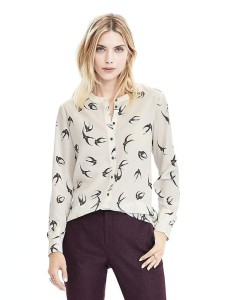 BR swallow blouse