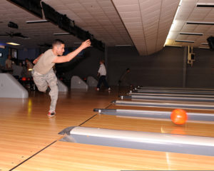 This may be the image some people have of Air Force physical fitness, but PT at COT is a fair bit more intense than your college bowling class! (Image courtesy of the US Air Force)